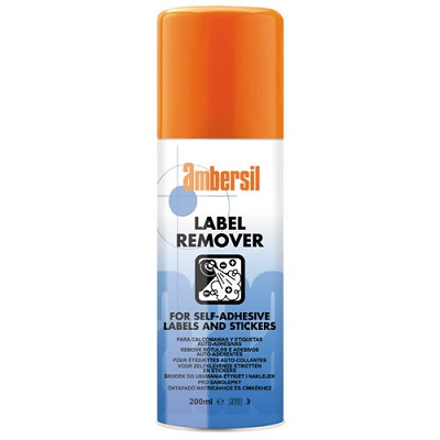Rent Ambersil Label Remover £6.00 short term for exhibitions and shows in London Birmingham and UK