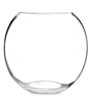 Rent Glass Bowl £8.00 short term for exhibitions and shows in London Birmingham and UK