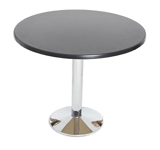 Rent Round Table 600mm £49.00 short term for exhibitions and shows in London Birmingham and UK